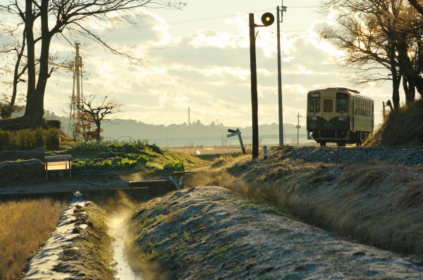 朝のひたちなか海浜鉄道