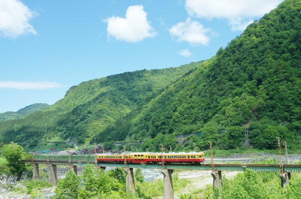 富山地方鉄道ダブルデッカー車両付編成