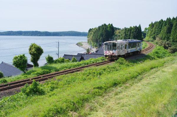のと鉄道〜西岸