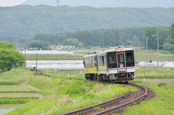お座トロ列車〜会津鉄道