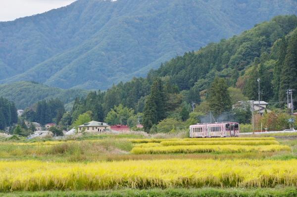 初秋〜会津鉄道