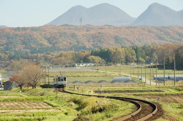 秋〜会津鉄道