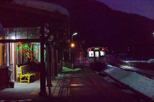 冬の会津鉄道