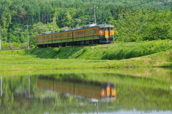 懐かしの車体カラー〜しなの鉄道