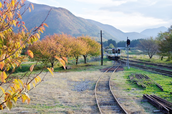 秋の会津鉄道