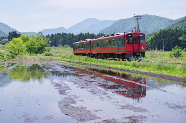 初夏?会津鉄道
